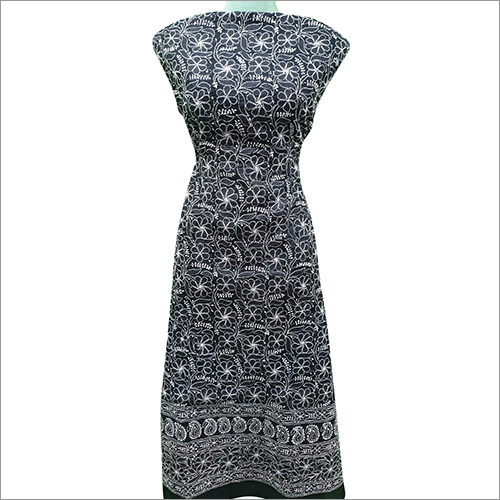 Ladies Chikan Suit Material