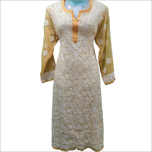 Ladies Chikan Designer Kurti