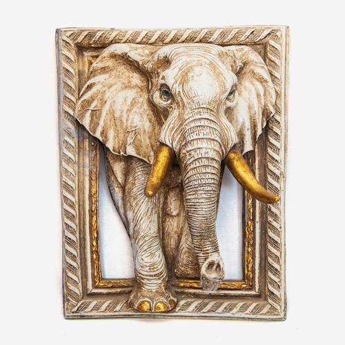 Resin Elephant Wall Frame