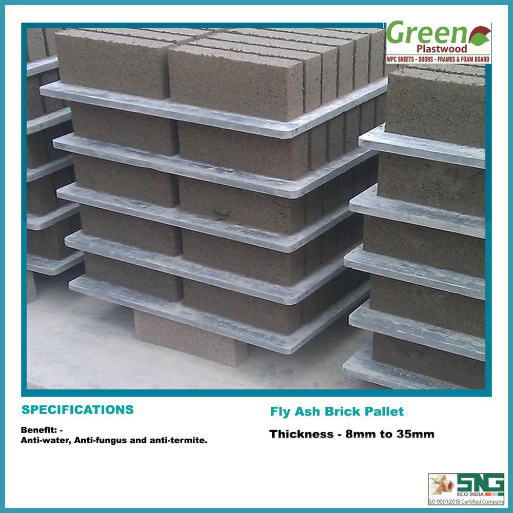 Recycle Plastic Bricks Pallets