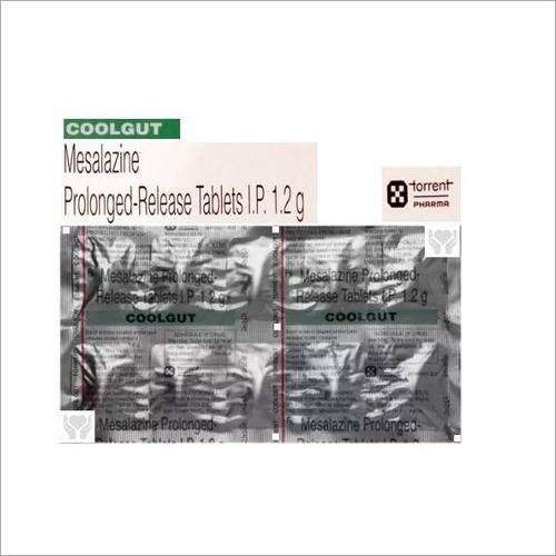 1.2gm Mesalazine Prolonged Release Tablets IP
