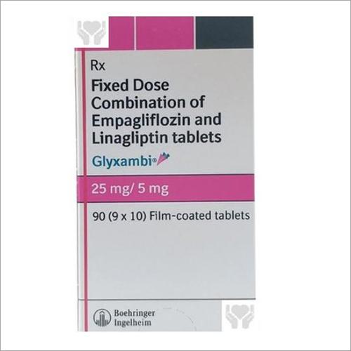 25mg Fixe Dose Combination Of Empagliflozin And Linagliptin Tablets