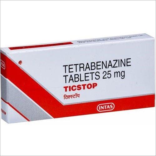 25mg Tetrabenazine Tablets