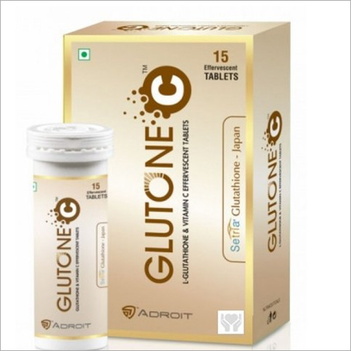 L Glutathione And Vitamin C Effervescent Tablets