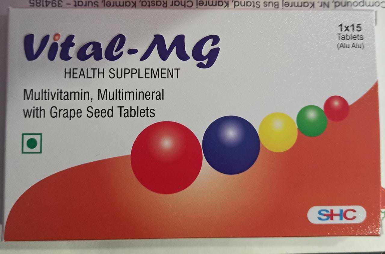 Vital-mg Multivitamin Multimineral Tablet