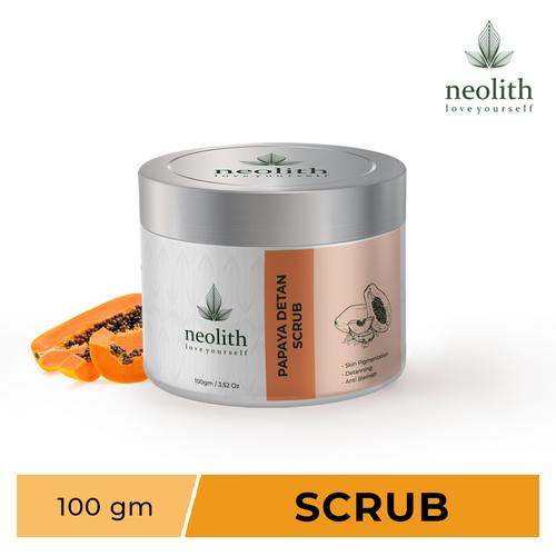 Neolith Papaya Detan Scrub Scrub  (100 G)