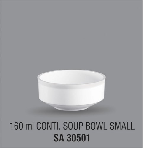 Acrylic Soup Bowl 160 Ml Continental