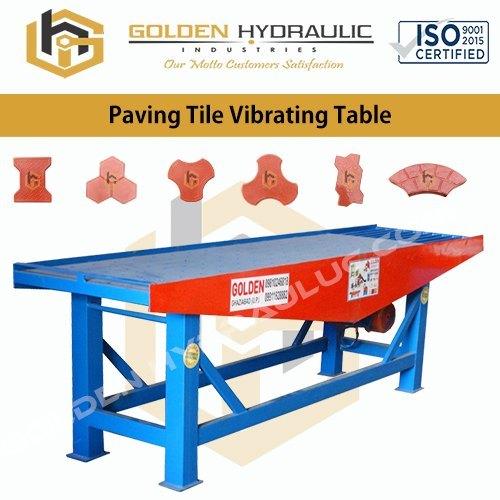Paving Tile Vibrating Table