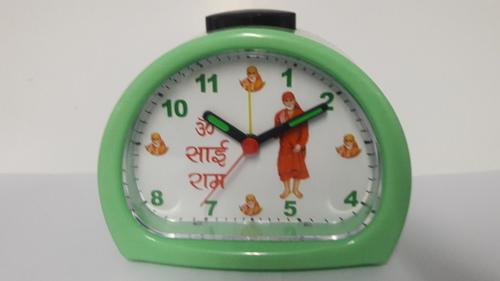 Sai Baba Chanting Morning Spiritual Alarm Table Clock For Gift
