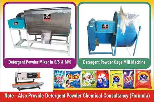 Detergent Making  Machine