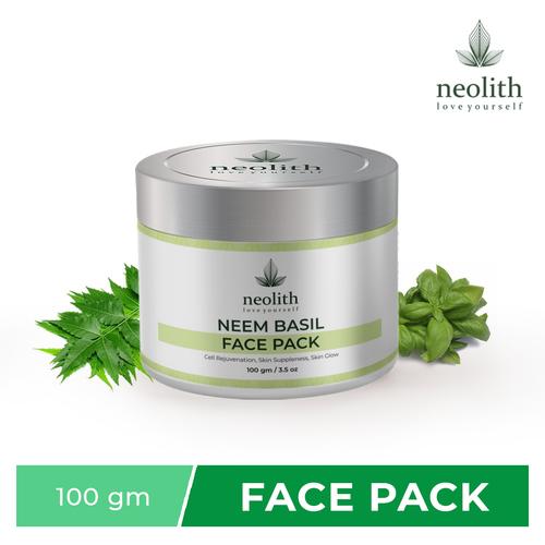 Neolith Neem Basil Face Pack  (100 G)