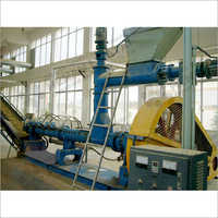 Rice Bran Oil Extrusion Section