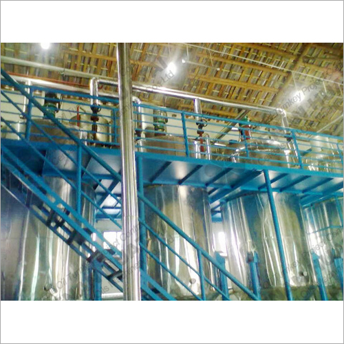 Animal Fats Oil Refining Machine