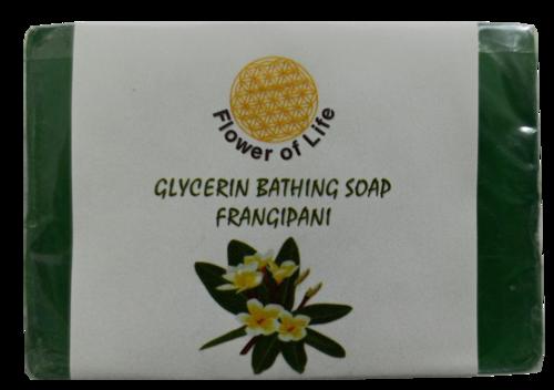 Frangipani Glycerin Bathing Soap
