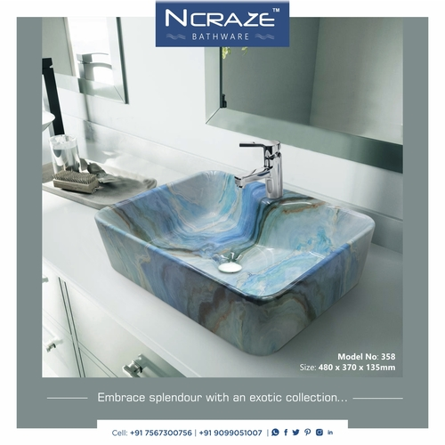 Exclusive wash basin