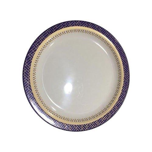 White Melamine Plates