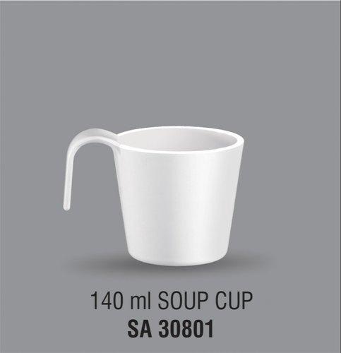 Acrylic  soup cup