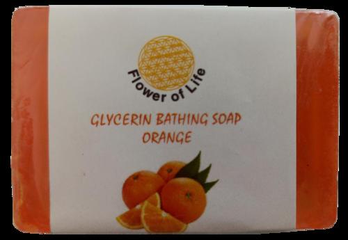 Orange Glycerin Bathing Soap