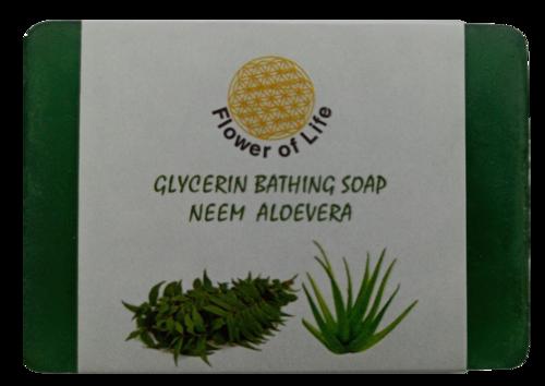 Neem Aloevera Glycerin Bathing Soap
