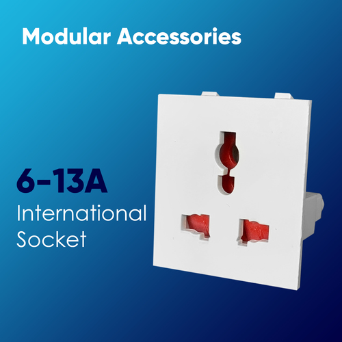 6A-13A International Socket