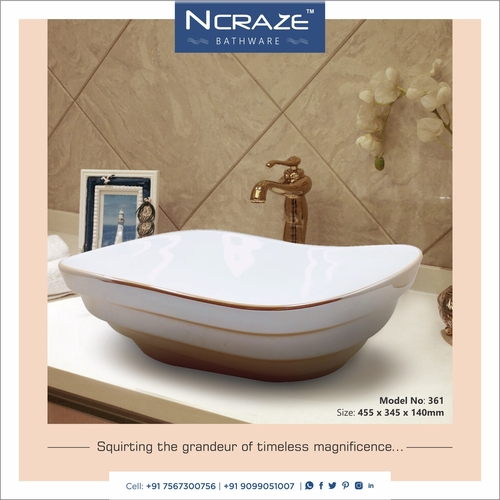 Exclusive table top basin