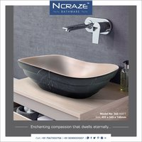 Black Matt Wash basin