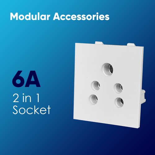 2 in 1 Socket