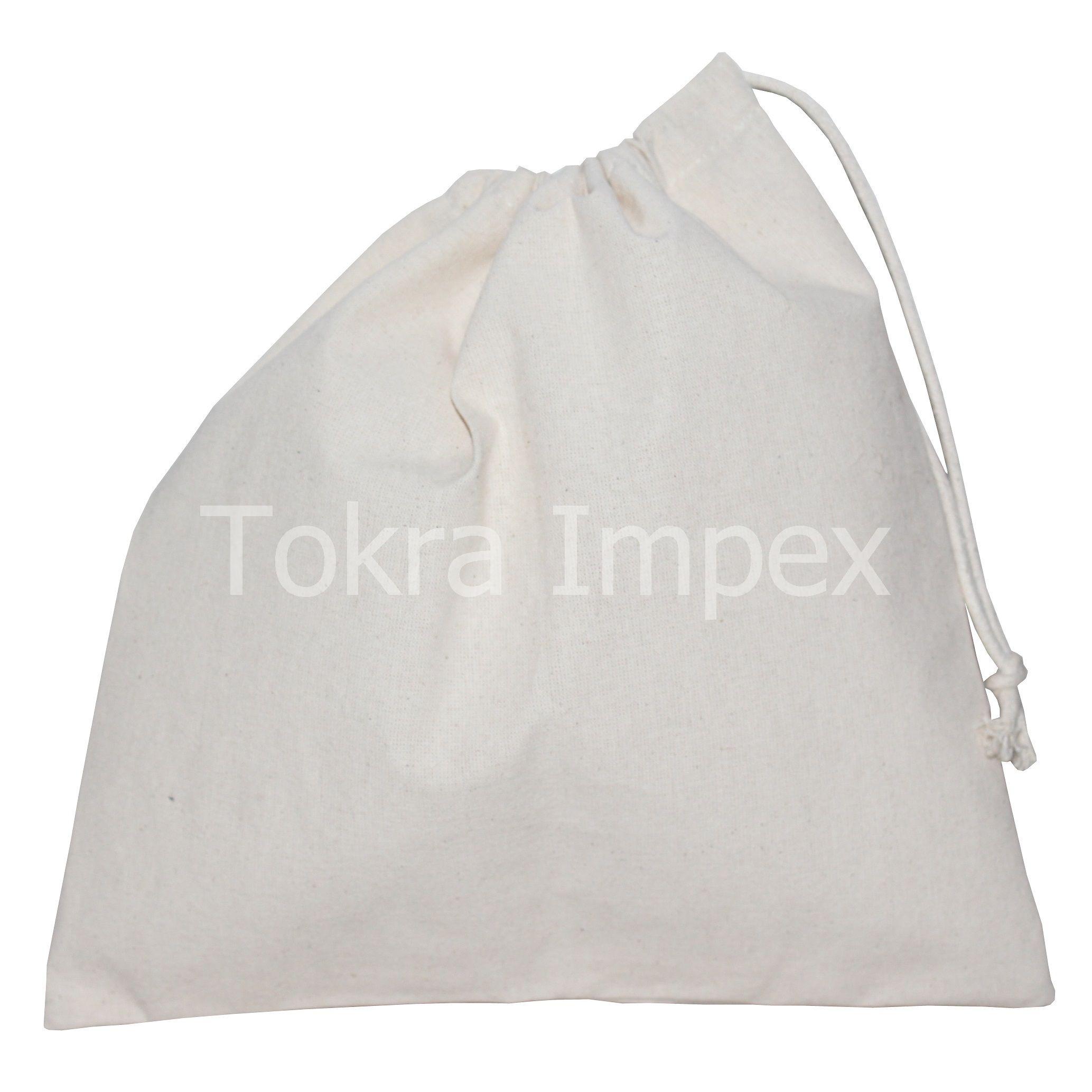 Cotton Pouch Drawstring Bag