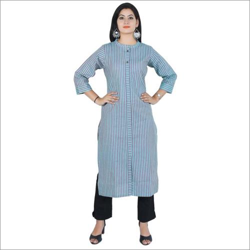 Ladies Plain Cotton Kurti