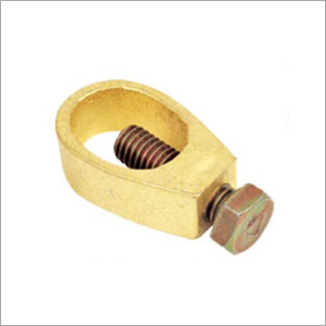 Brass Earth Rod Cable Clamp