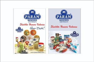 Param Desi Ghee New Year Musical Diary Module For Corporate Gifting And Promotion
