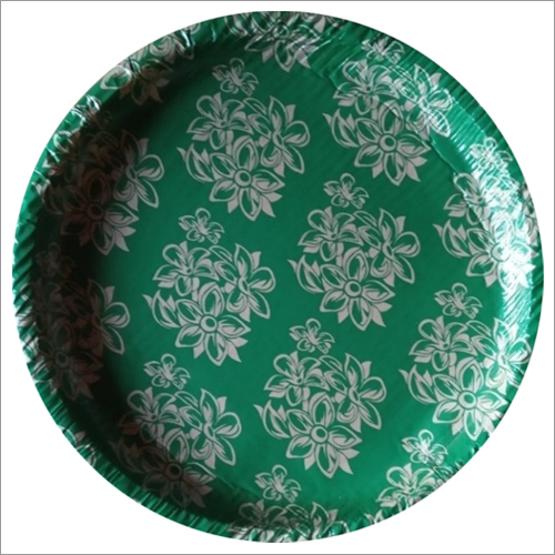Disposable Printed Buffet Paper Plates