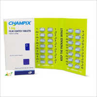 Brand Champix /Chantix  1mg Tablets
