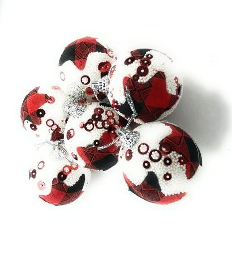 Christmas Decorative Balls 6 Pcs