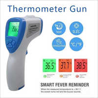 D-19 Non Contact Infrared Forehead White Thermometer