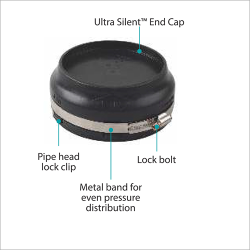 Drainage Pipe Pressure End Cap For Sealing Pipeline End