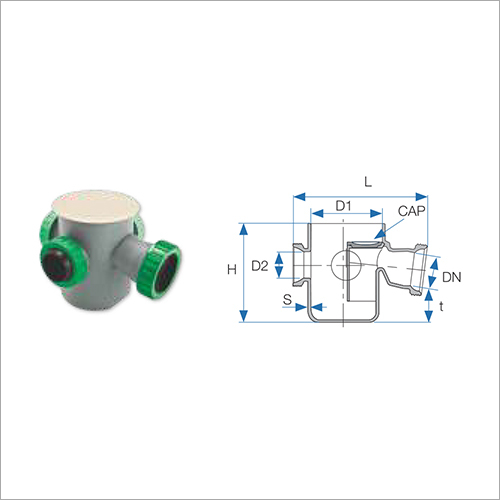 Threadlock Water Collector with Adjustable Ball Joint