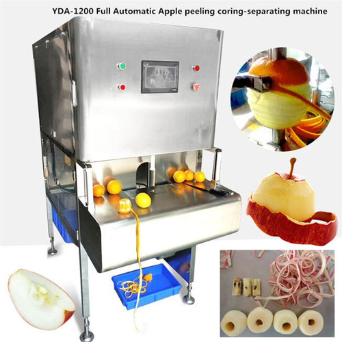 YDA-1200 Full Automatic Apple peeling coring-separating machine