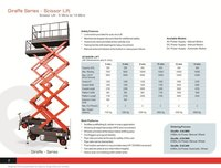 V-TECH Make Hydraulic Scissor Lift