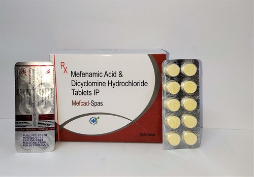 MEFENAMIC ACID & DICYCLOMINE