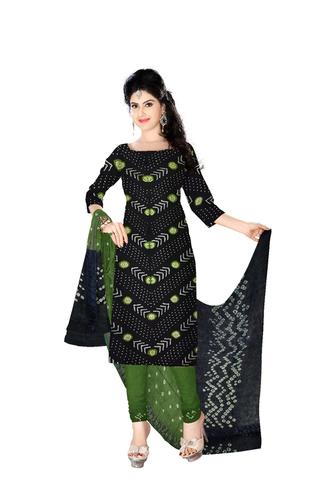 bandhani printed dress