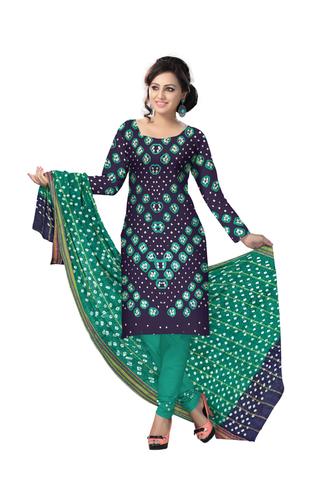 ladies desighner bandhani dress