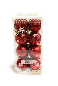 Christmas Tree Hanging Balls 16 pcs