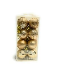 Christmas Tree Hanging Balls 16 pcs