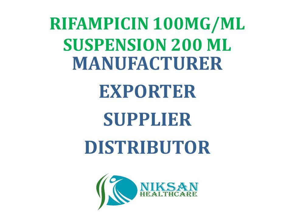 RIFAMPICIN 100MG/ML SUSPENSION 200 ML