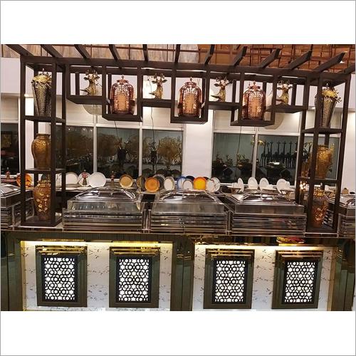 Wedding Indoor Catering Table