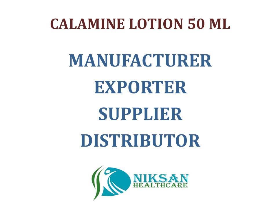 CALAMINE, LIGHT LIQUID PARAFFIN LOTION 50 ML