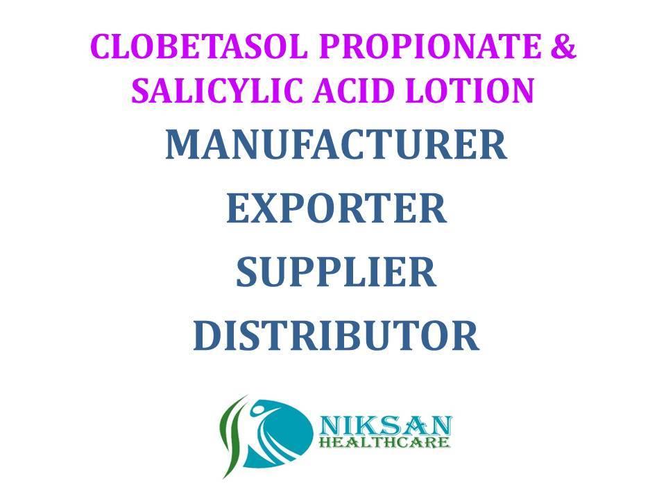 CLOBETASOL PROPIONATE & SALICYLIC ACID LOTION