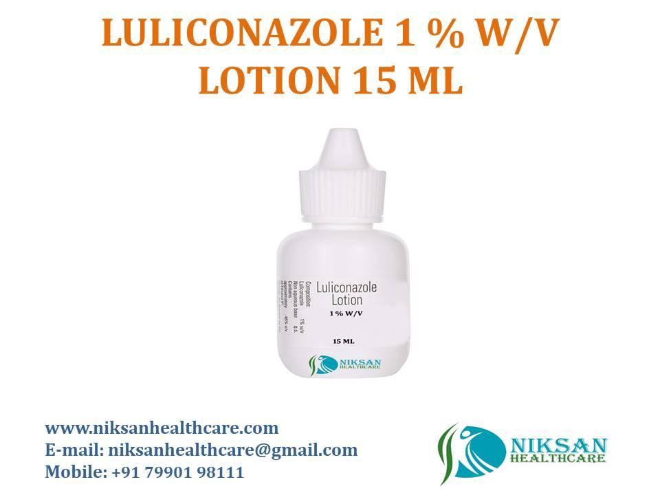LULICONAZOLE 1 % W/V LOTION 15 ML