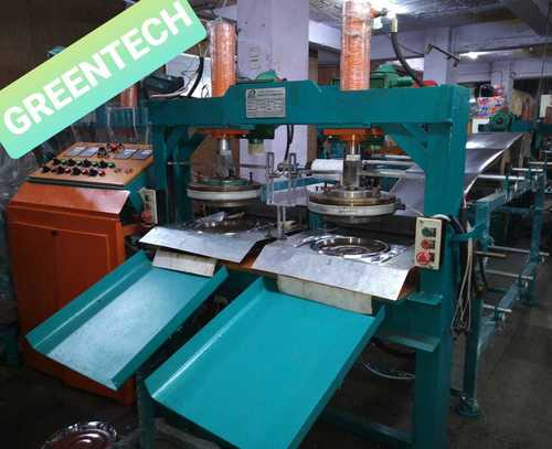 Fully Automatic Hydraulic Paper Thali Making Machine